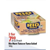 Rio Mare Tuna Or Tuna Salad