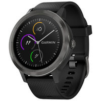 Garmin Vivoactive 3 GPS Smartwatch With Heart Rate Monitor - Large Gunmetal