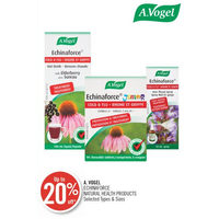 A. Vogel Echinaforce Natural Health Products