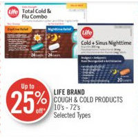 Life Brand Cough & Cold Products