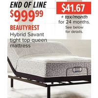 Beautyrest Hybrid Savant Tight Top Queen Mattress