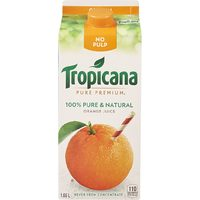 Tropicana, Simply Or Oasis Premium Juice