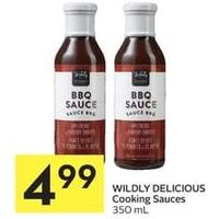 Wildly Delicious Cooking Sauces