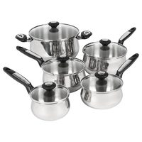 Lagostina 10-Piece Stainless Steel Cookware Set