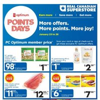 Real Canadian Superstore - Weekly - Points Days Flyer