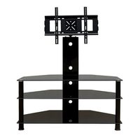 Promounts 3 Glass Shelf TV Stand/Mount