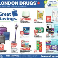 London Drugs - 6 Days of Savings - Great Savings Flyer