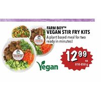 Farm Boy Vegan Stir Fry Kits