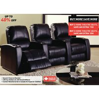 Palliser Bonded Leather Home Theatre Seating
