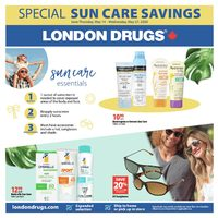 London Drugs - Sun Care Savings Flyer