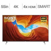 Sony 65 in. 4K HDR XBR65X900F Android Smart TV