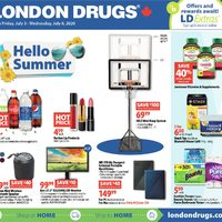 London Drugs - 6 Days of Savings - Hello Summer Flyer
