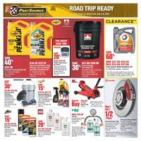PartSource - Road Trip Ready Flyer