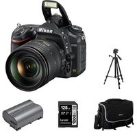 Nikon D750 Camera Body With AFS 24-120mm VR Lens Kit, Rechargeable Battery, Camera Bag, Tripod And 128GB Memory Card