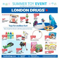 London Drugs - Summer Toy Event Flyer