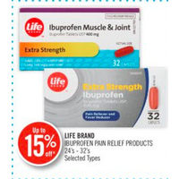 Life Brand Ibuprofen Pain Relief Products