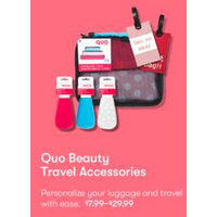 Quo Beauty Travel Accessories