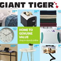 Giant Tiger - Summer Look Book Flyer