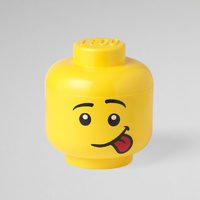 Lego Large Storage Silly Boy Head