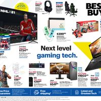 Best Buy - Weekly - Next Level Gaming Tech Flyer