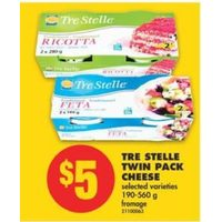 Tre Stelle Twin Pack Cheese