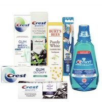 Crest or Burt's Bees Toothpaste, Oral-B Manual Toothbrushes or Crest Mouthwash