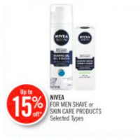 Nivea For Men Shave Or Skin Care Products
