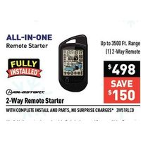 Idal Astart 2-Way Remote Starter