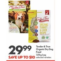 Tender & True Organic Dry Dog Food