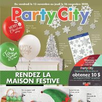 Party City - Rendez la maison festive Flyer