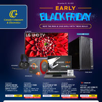 Canada Computers - Early Black Friday Flyer