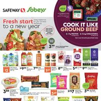 Safeway - Fresh Start To A New Year Flyer