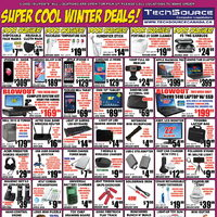 Tech Source - Super Cool Winter Deals! Flyer