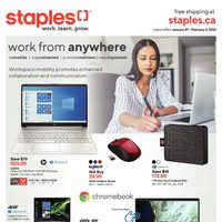 Staples - Weekly - Work From Anywhere Flyer