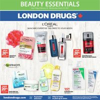 London Drugs - Beauty Essentials Flyer
