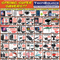 Tech Source - Spring Super Savers Flyer