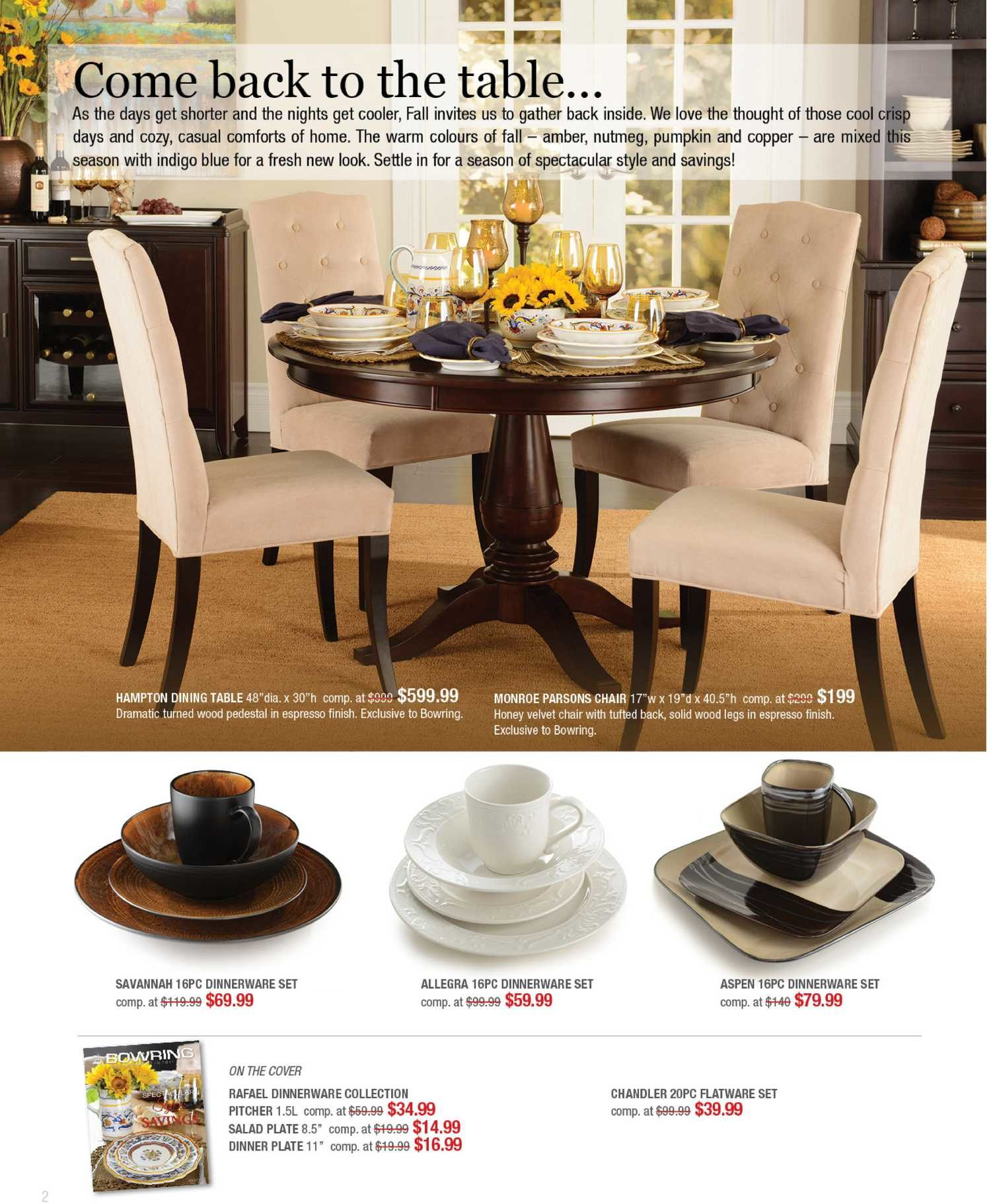 Bowring Weekly Flyer - Fall Catelogue 2013 - Style u0026 Savings - Oct 7 u2013 31 - RedFlagDeals.com & Bowring Weekly Flyer - Fall Catelogue 2013 - Style u0026 Savings - Oct 7 ...
