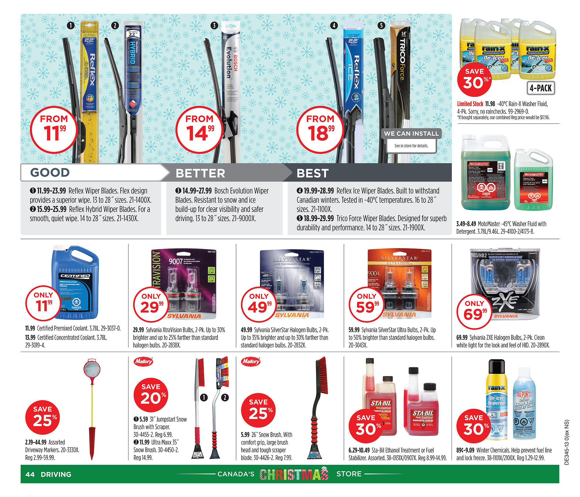 Canadian Tire Weekly Flyer Oct 30 Nov 6 Scosche Frosted Flux Power Wire 4 Gauge Blue By