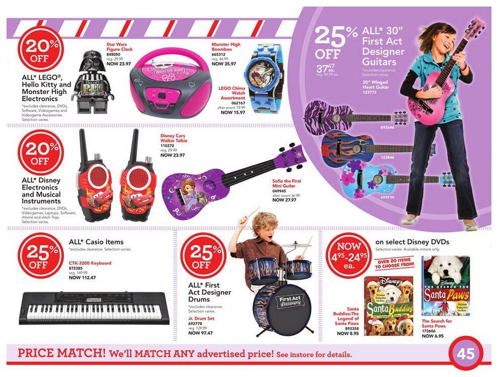 Toys R Us Weekly Flyer - Toy Book - Nov 8 – 21