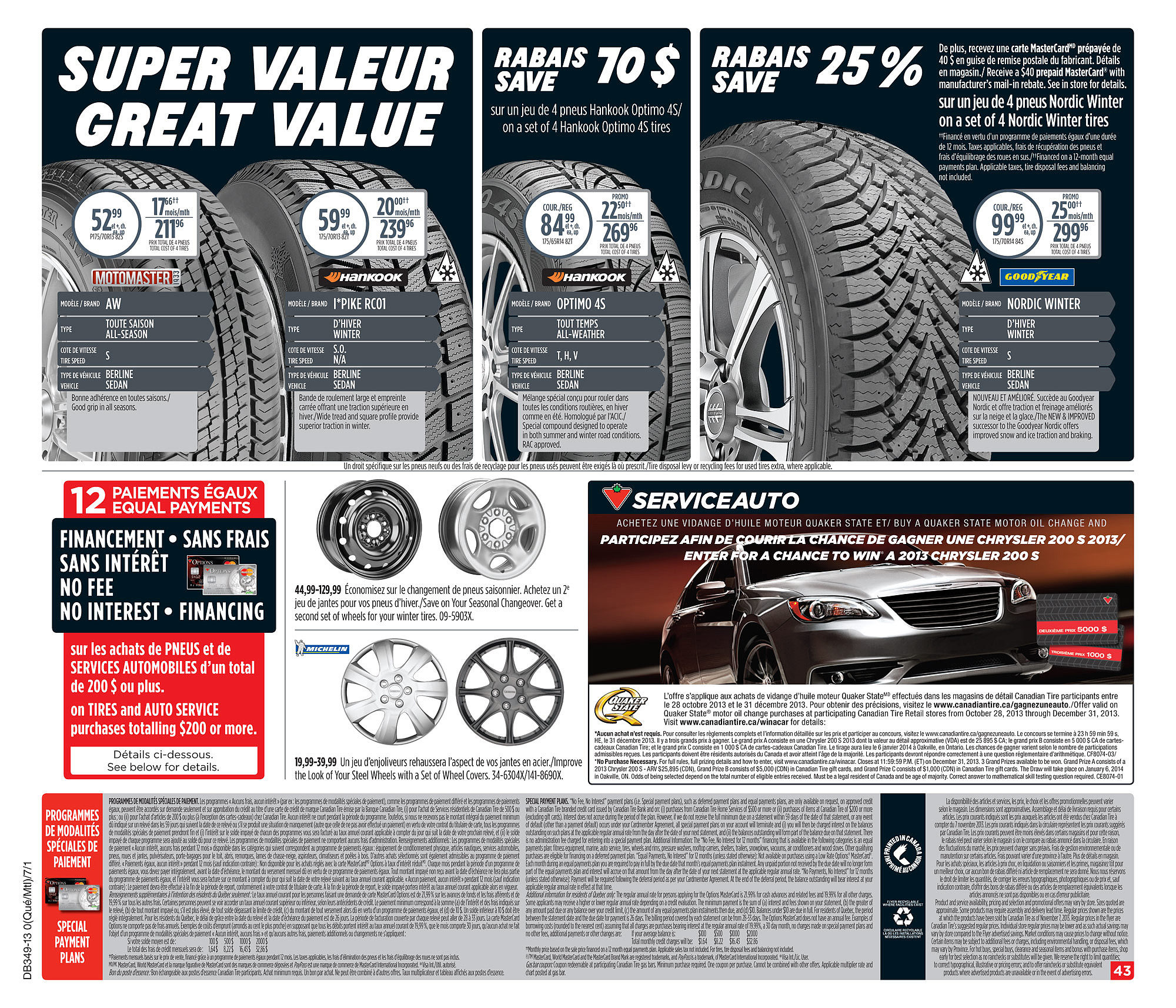 Canadian Tire Weekly Flyer Weekly Flyer Nov 29 Dec 5