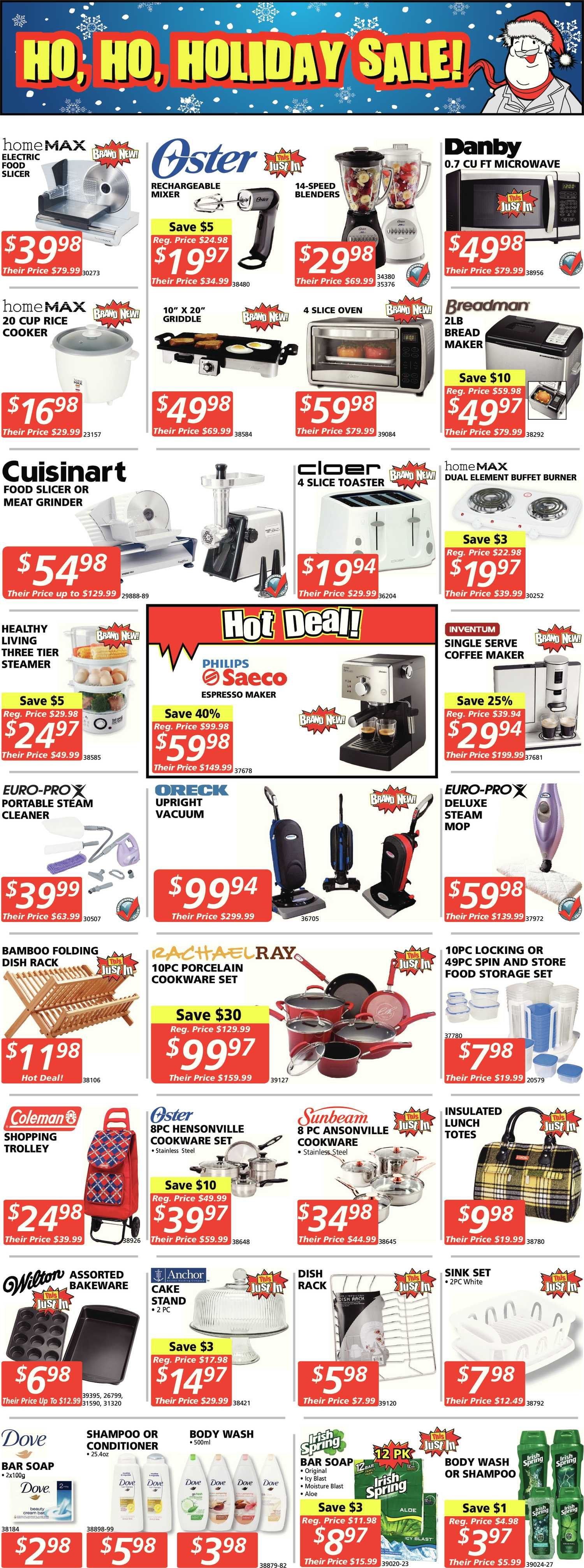 XS Cargo Weekly Flyer - Just Real Deals - A Christmas Ho, Ho