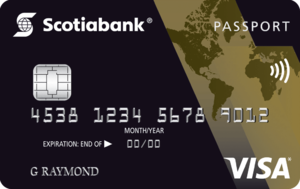 ScotiaGold Passport VISA® Card