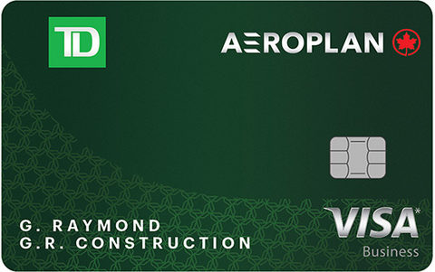 TD® Aeroplan® Visa* Business Card