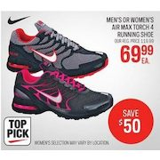 Men s Or Women s Nike Air Max Torch 4 Running Shoe -  69.99 ( 50.00 ... d3a1a0a11