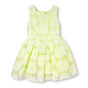 Girls Sleeveless Daisy Lace Dress - $24.50 ($25.45 Off)