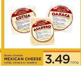 Iga Stores Of Bc Queso Dorado Mexican Cheese Cotija Oaxaca Or Asadero Redflagdeals Com