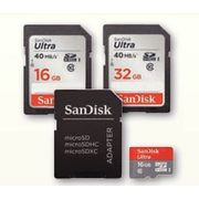 SanDisk Ultra Class 10 MicroSD Or SD Card  - From $14.99 (50%   off)