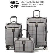 Knightsbridge 360 Luggage - $66.50 - $168.00 (65$ off)