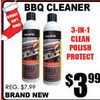 BBQ Cleaner  - $3.99