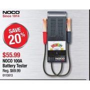 Noco 100A Battery Tester  - $55.99 (20% off)